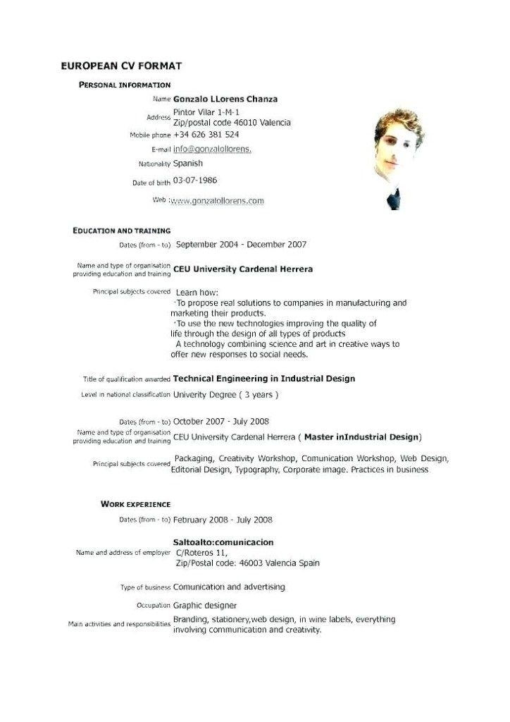 Master Application Template Cv Template Cv Design Template First Job Resume
