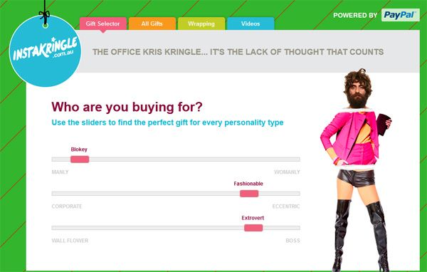 PayPal launches Christmas assault with secret Santa gift chooser – Instakringle