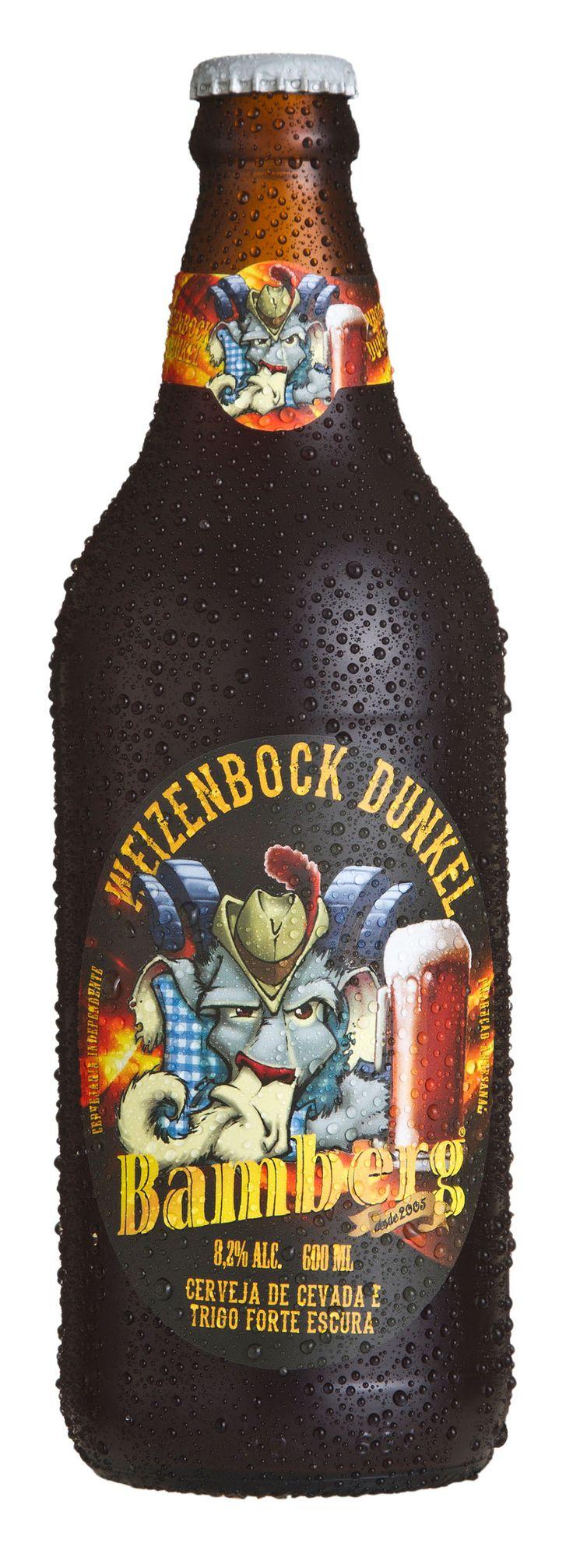 Bamberg Weizenbock Dunkel. Cervejaria Bamberg. Votorantim-SP. #brazil #beer