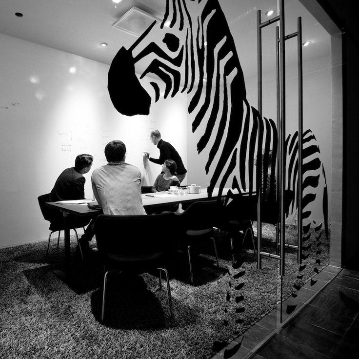 + Studio office_zebra!_pict by Kai Kuusisto