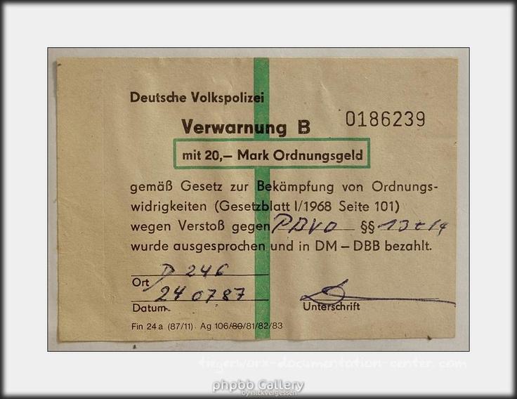 gdr parking ticket