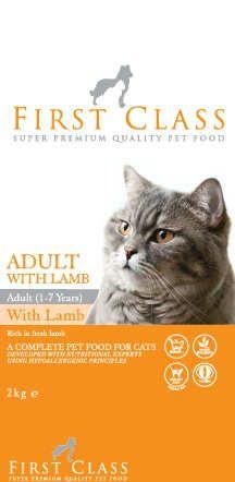 Fırst Class Adult With Lamb Rice Etli Kedi Maması 2kg  http://www.avistanbul.com.tr/asp/product/62660/First-Class-Adult-With-Lamb-Rice-Etli-Kedi-Mamasi-2kg