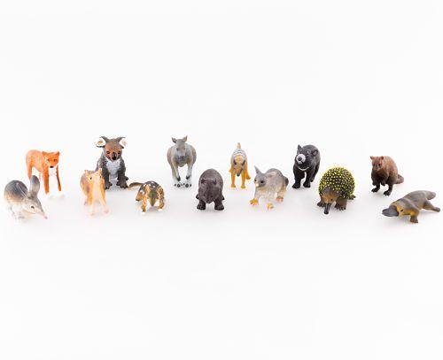 Puggle Post Australian Mammal Figurines