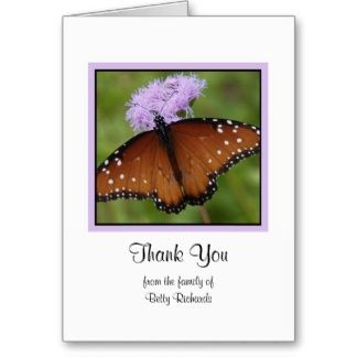 15 best Bereavement Thank You Cards images on Pinterest