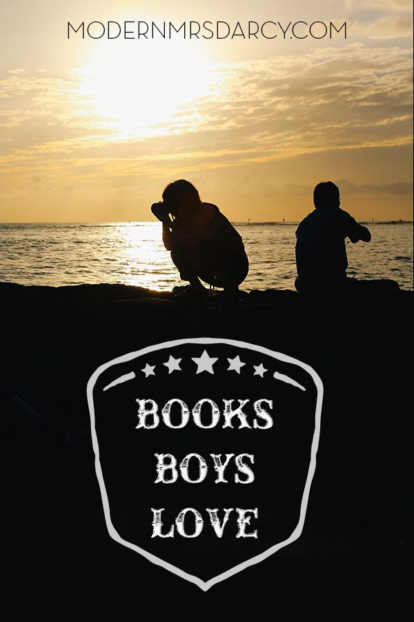 5 books boys love. Perfect for tween and middle grade readers.