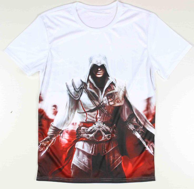 Short Sleeve Assassina's Creed 3D T-shirt