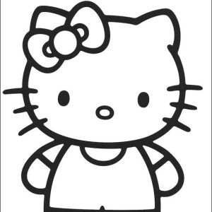 free printable kitty coloring pages for kidsthis time in hello kitty coloring pages we bring entertainment and joy to the children in drawing and coloring
