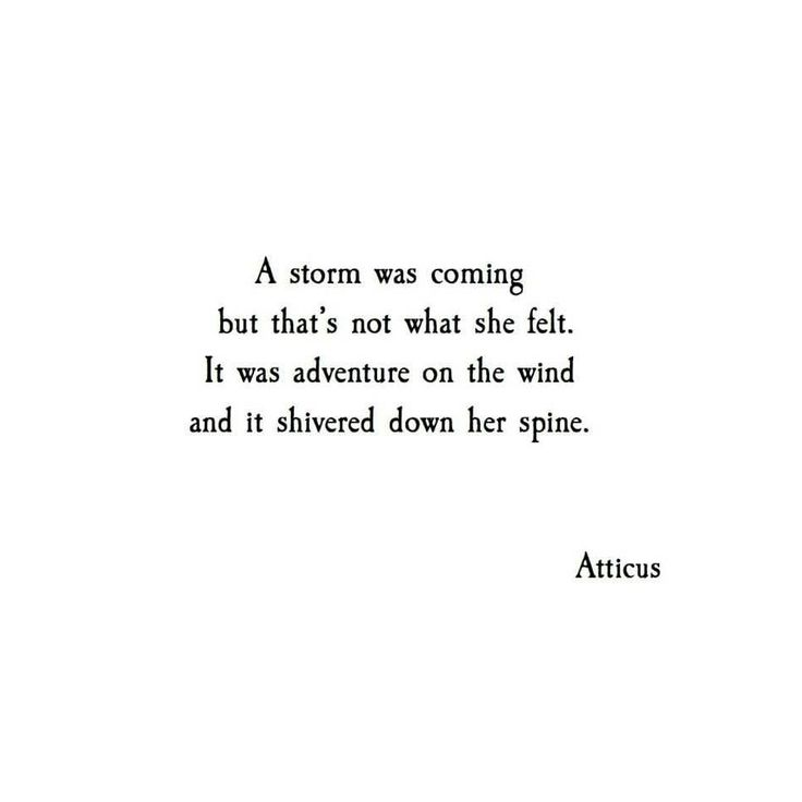An adventure on the wind and a shiver down her spine