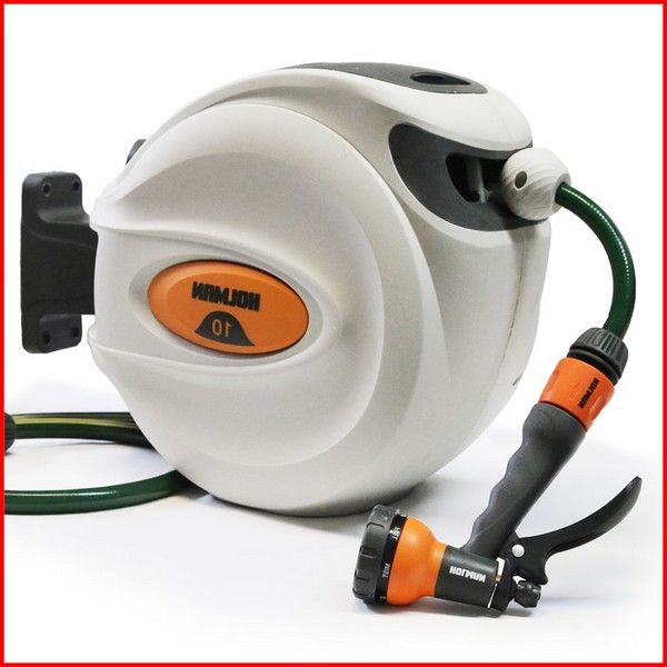 Retractable Hose Reel Bunnings In 2020 Retractable Hose Hose Reel Retractable Garden Hose Reel