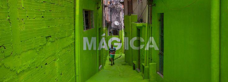 Анаморфные послания на улицах Сан-Паулу в Бразилии