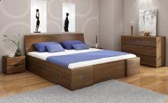 Łóżko sosnowe Visby Hessler High Drawers (z szufladami)