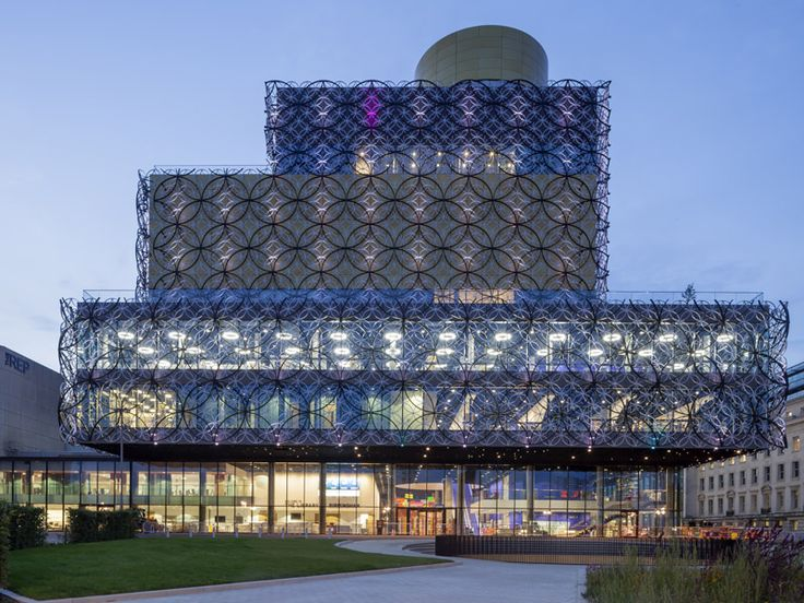 Robe and Crown: Birmingham's new library - DesignCurial