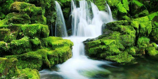 Aneka Pemandangan Air Terjun Yang Cantik | Gambar Pemandangan Indah