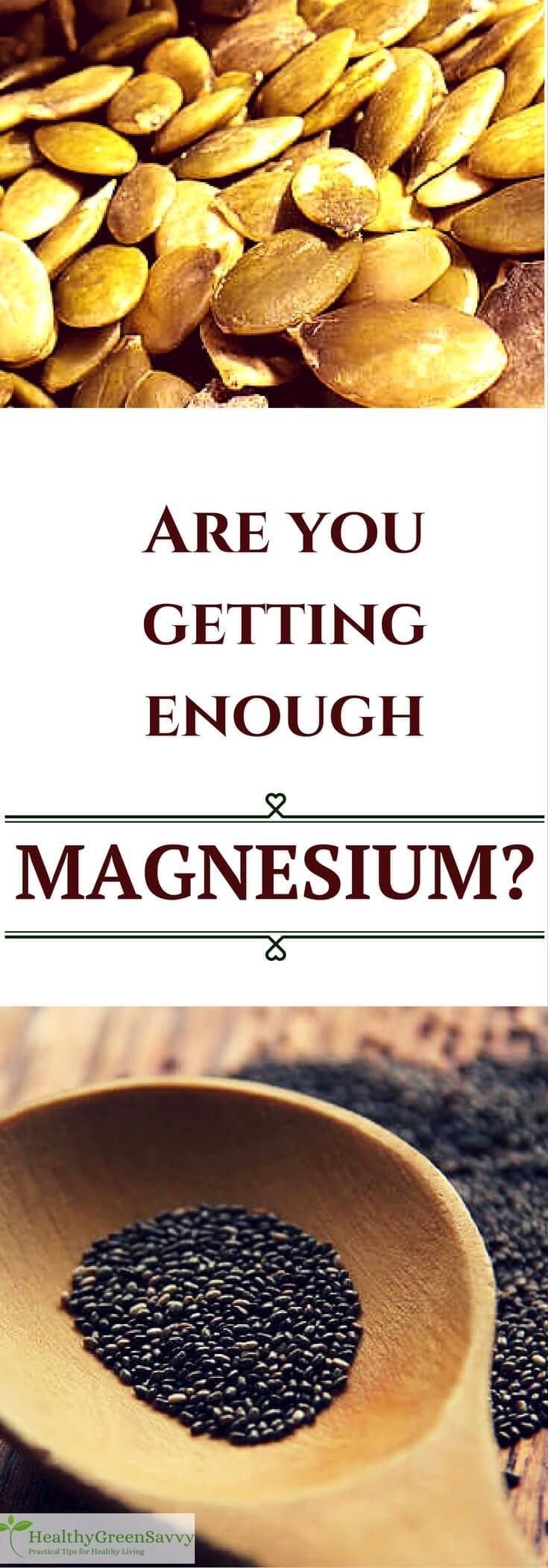 Magnesium is involved in hundreds of bodily functions, and most of us don't get enough. Click to read more or pin to save for later.   natural remedies   nutrient deficiencies   supplements for sleep  