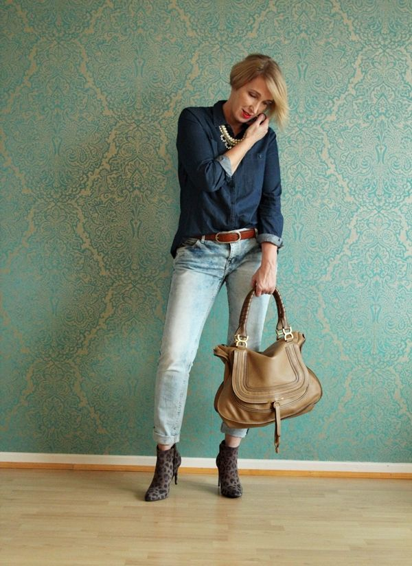 Jeans Allover-Outfit