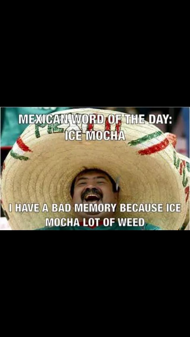mexican word of the day ice mocha