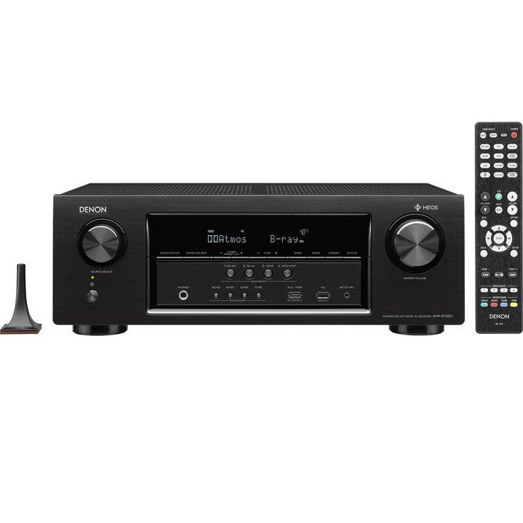Denon Home Theater A/V Receiver Amp Dolby Atmos Wifi BlueTooth