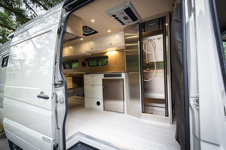 Bespoke camping van brings luxury to the outdoors - Curbedclockmenumore-arrow : Off-the-grid living never looked so sleek