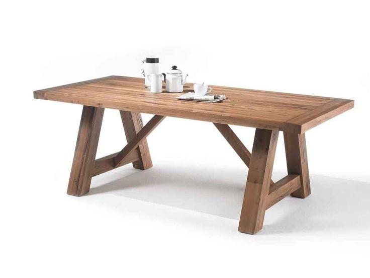 Stół z drewna dębowego Solid