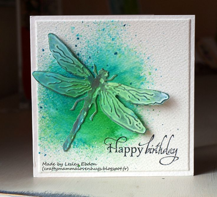 A card received from Lesley Ebdon