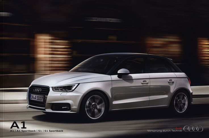 https://flic.kr/p/MTzzoV   Audi A1, A1 Sportback, S1, S1 Sportback; 2015_1