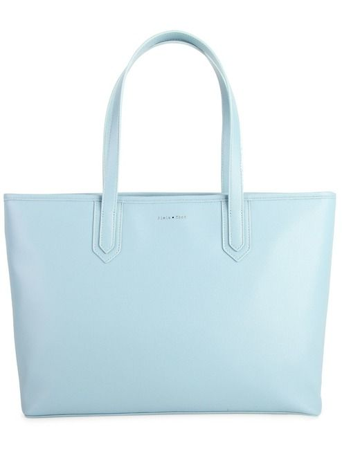 "Lydia Zipper Tote - Baby Blue | Simple, stylish and made of vegan leather! This bag not only doubles up as a cross-body purse but also features a padded 15"" laptop compartment as well as slip pockets for all your work/life needs! #torontofashion #CanadianDesigners #canadianfashion #canadianfashionblogger #madeincanada #canadiandesigner #canadianbrands #veganleather #veganfashion #crueltyfree #pixiemood #pixiemoodbag #backpack #veganpurse #purse #crossbodybag #crossbodypurse #tote #totebag"