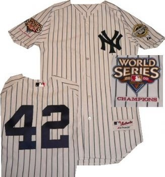 Mariano Rivers - 2009 World Series champions and Inaugural season of New Yankee Stadium patches