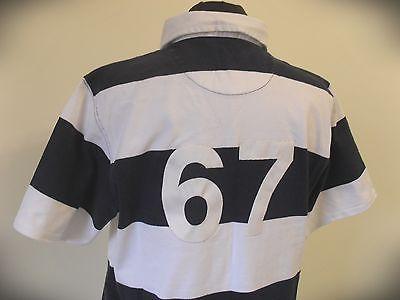 Polo Ralph Lauren a righe Shirt Sport Trikot Top Maillot  size L- XL (A74)