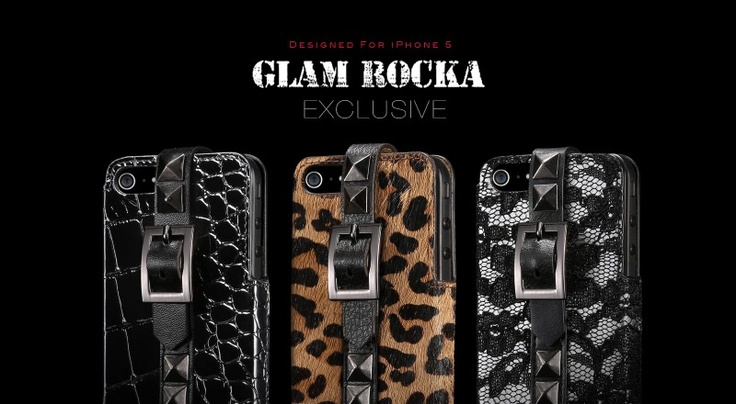 Glam Rocka Exclusive for iPhone 5 @ more-thing.com #iPhone5cases