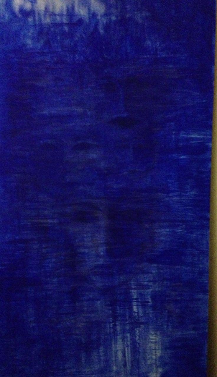 Blå ansikten