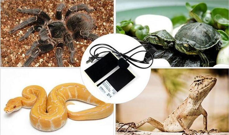2016 New  Heat Mat 5W Reptile Brooder Incubator Pet Heating Pad US Plug For Lizards tortoise