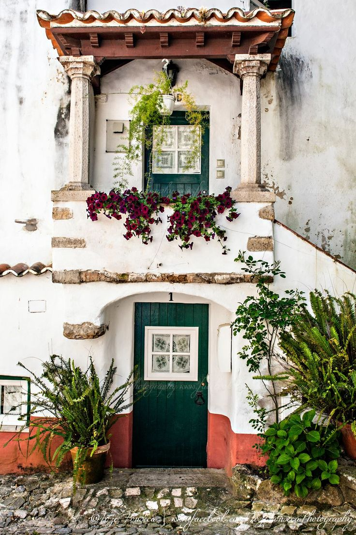 Óbidos fortified village, Portugal