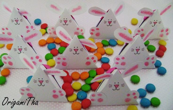 Lembrancinha de Páscoa - Caixinha para Confetes R$1.60
