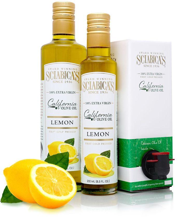 Lemon Olive Oil – Sciabica's California Olive Oil