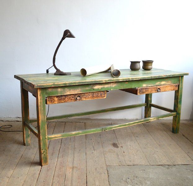 Workshop table from harness-maker | artKRAFT - Furniture and Design