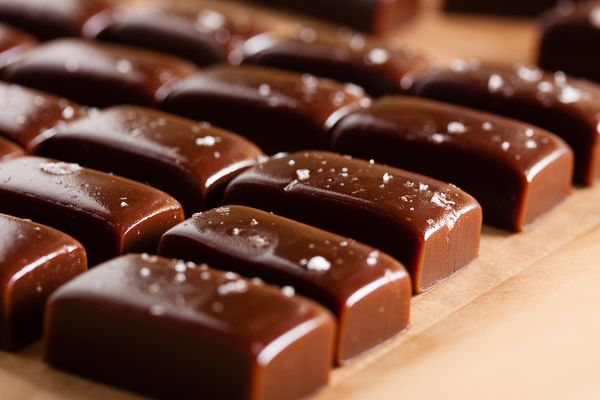 These chocolate espresso caramels combine three wonderful flavours into one delicious treat.