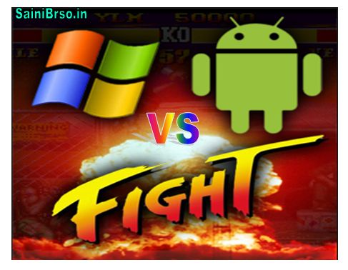 Uses of Windows phone and fight with Android