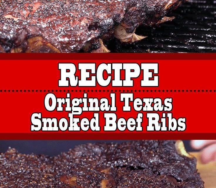 Original Texas Smoked Beef Ribs Smoked Beef Ribs Smoked Beef Beef