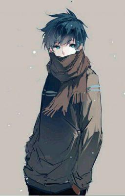 chico anime solitario
