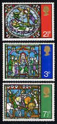 Great Britain #661-663 Stamps - Christmas 1971 Stamps - Magi - EU GB 661 to 663-1 MNH