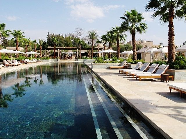 The Quiet Pool Of Four Seasons Resort Marrakech Pools