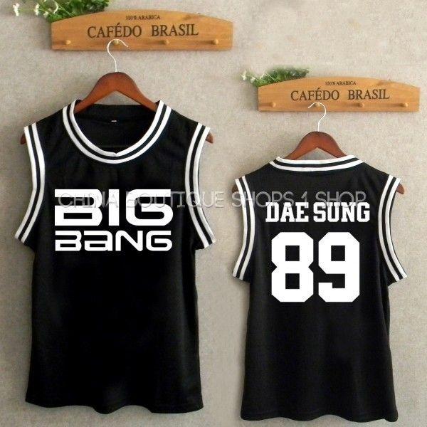 Kpop BigBang Big bang G dragon sol kpop BigBang BigBang TaeYang DaeSung victoria uniforme de béisbol SUPERIOR hecho en de en AliExpress.com   Alibaba Group