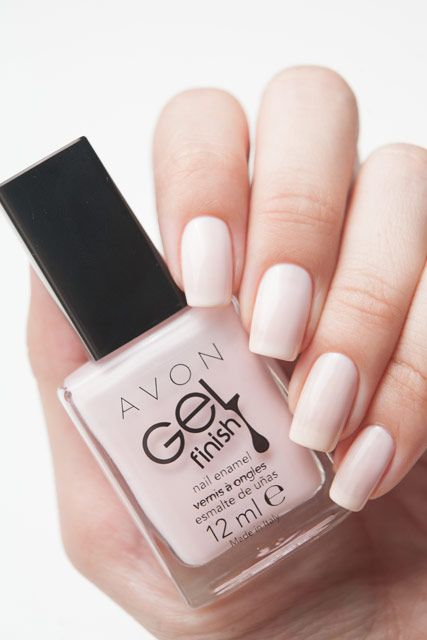 Perfect nails! Avon Sheer Love www.youravon.com/djohnson7286