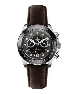 Barbican brown leather watch Sale - Vivienne Westwood Sale