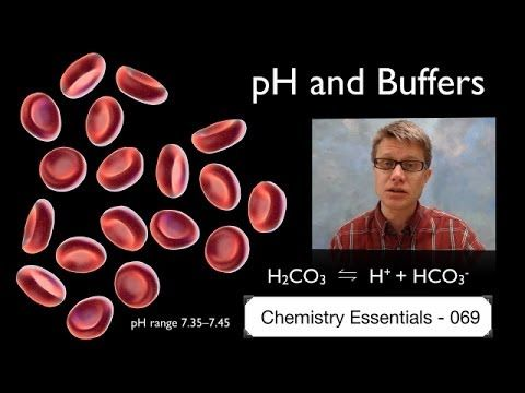 pH and Buffers:  In this video Paul Andersen explains how buffer solutions maintain pH in a solution. A buffer solution is made up of a weak acid and its conjugate base. As strong acids or bases are added the pH remains stable. A good buffer solution has a pKa value equivalent to the pH and equal amounts of the weak acid and the conjugate base.