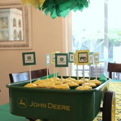 john deere tractor birthday party fun birthday ideas