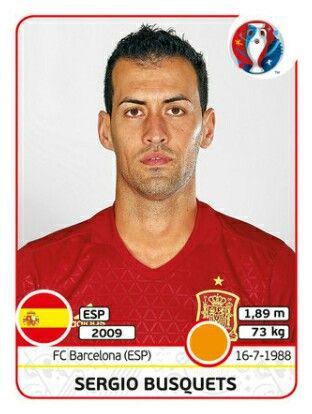 EURO 2016 - Sergio Busquets - España