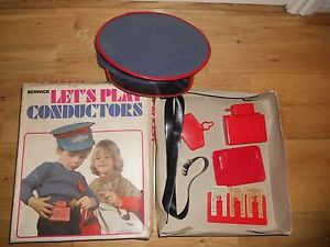 VINTAGE-50S-60S-BERWICK-LETS-PLAY-CONDUCTORS-TOY-TOWN-BUS-FANCY-DRESS-CHILDS
