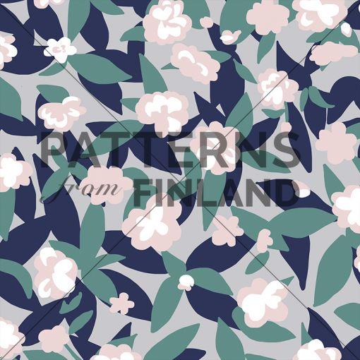 Garden – Kukkaketo by Ammi Lahtinen  #patternsfromagency #patternsfromfinland #pattern #patterndesign #surfacedesign #ammilahtinen