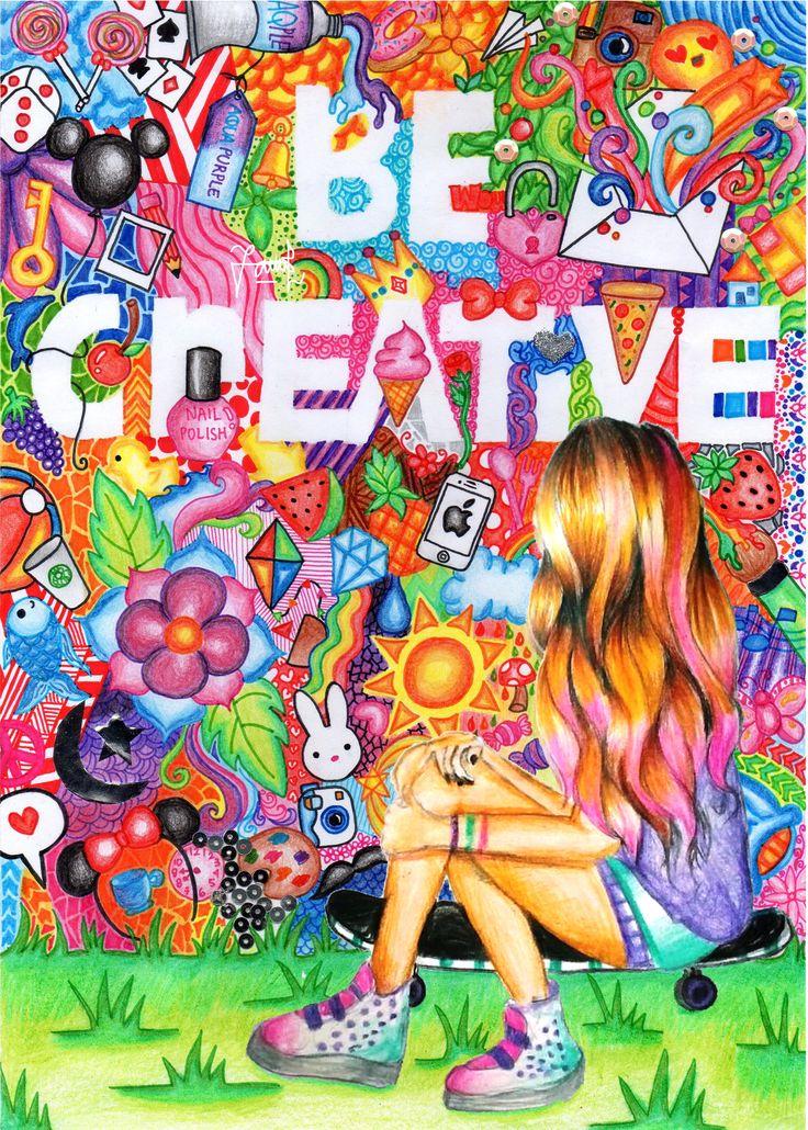 Be Creative  Inspired by Kristina Webb Created by me and Vidhia  #kristinawebb…